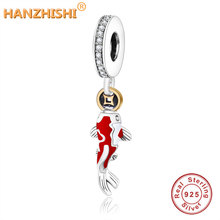 Fit Original Pandora Charms Bangle Bracelet DIY Jewelry 2019 Spring Real 925 Sterling Silver Bead Koi Fish Dangle Charm Beads