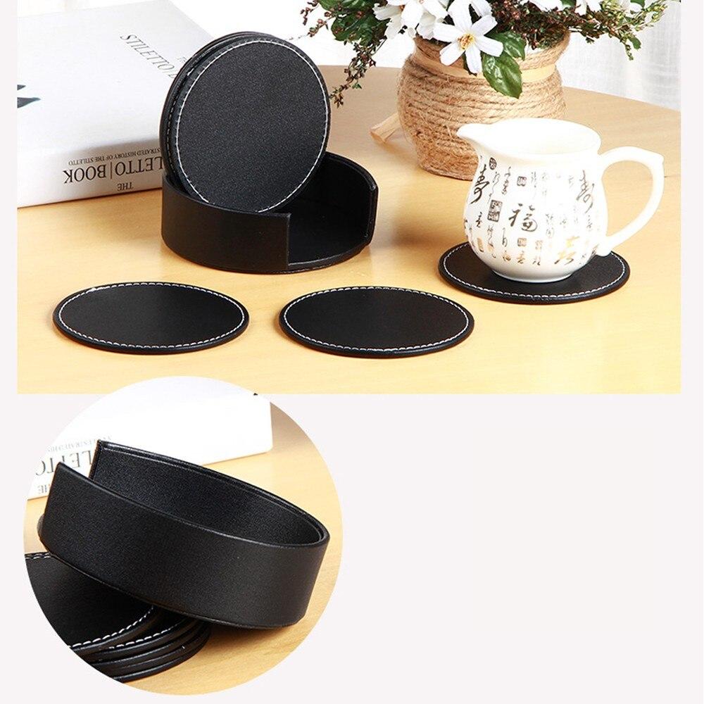 Mat Rack Holders #D 6pcs Vintage Coasters Coffee //Tea// Coaster Cup Mug Mat