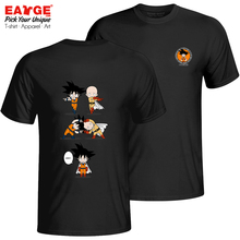 An Impossible Fusion Between Goku And Saitama T-shirt Casual Print Anime T Shirt Funny Women Men Cotton Double Sided Tee