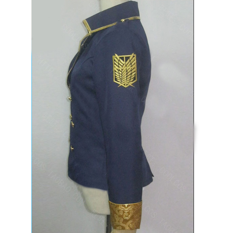 Attack on Titan Cosplay Shingeki no Kyojin Coat Jacket Hero Costume