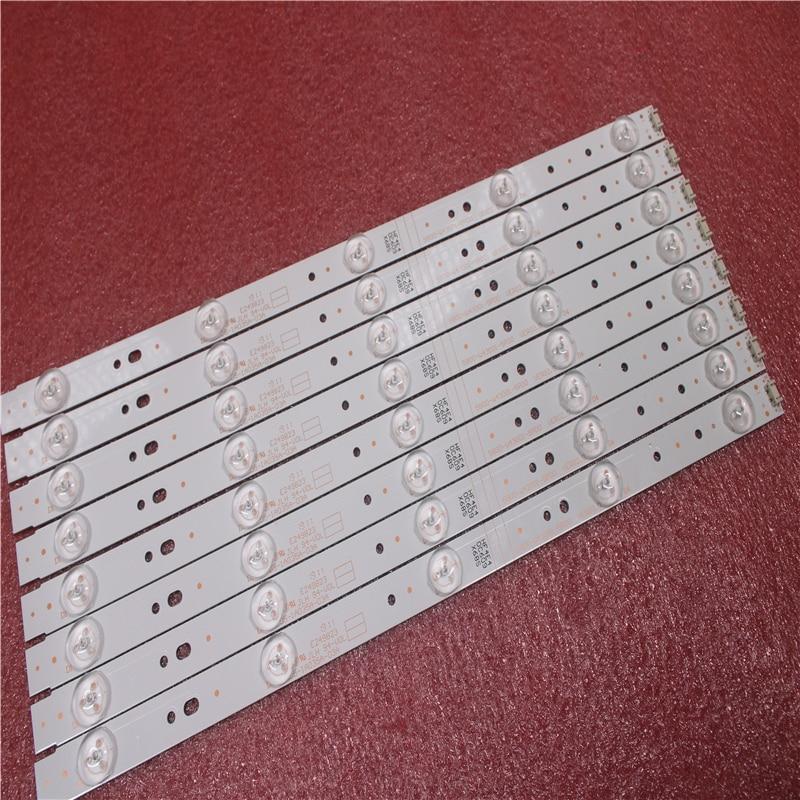 מזגנים תאורת LED אחורית עבור 43E3000 43E3500 43E6000 5835-W43002-2P00 5800-W43001-5P00 VER01.00 02K03177A LG מסך RDL430WY LD0-10D (2)