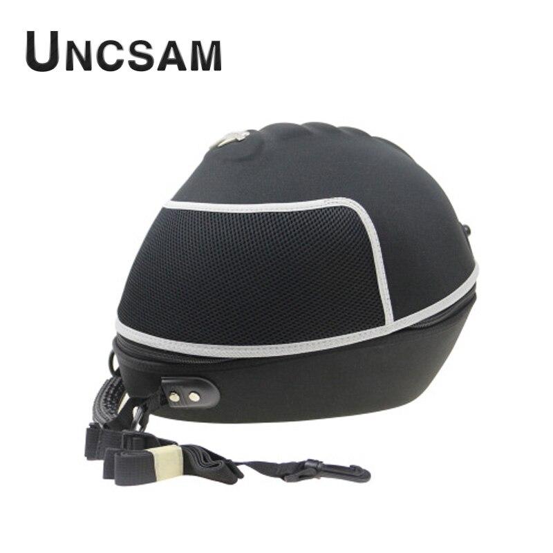 E sac de motocycliste étanche peut être placé casque locomotive équipement d'équitation casque intégral tout-terrain sac à dos étanche