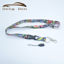 HB 1Pcs STICK BOMB I Love JDM TOY Graffiti JDM Lanyard For Key/Phone w/ iLL Fresh As Fck Domo Shocker, etc Nos Turbo(China)