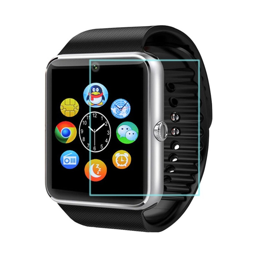 Screen-Protector Watch Anti-Scratch Ultra-Thin Front-Film Tempered-Glass for GT08 Drop-Ship