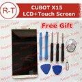 CUBOT X15 Сборки ЖК-Экран 5.5 дюймов жк-дисплей + сенсорный Экран Замена Панели Для MTK6735A Cubot X15 Мобильный Телефон На Складе