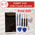 CUBOT X15 LCD Screen Assembly 5.5inch lcd display+touch Screen Panel Replacement For MTK6735A Cubot X15 Mobile Phone In Stock