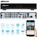 Kkmoon hd 960 h 8ch cctv dvr para secuirty câmera p2p h.264 1080 p de saída 8 canais de vigilância gravador de vídeo casa de segurança