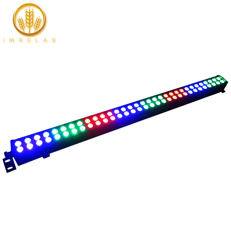 IMRELAX 64 1 5w RGB 3in1 LED Bar Light Color Mixing Stage Effect Light DMX Washer