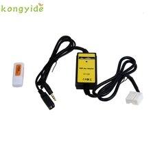 NUEVA Entrada AUX MP3 Adaptador de Interfaz de Cambiador de CD Cable USB + Lector de tarjetas para Honda Accord or2740 %