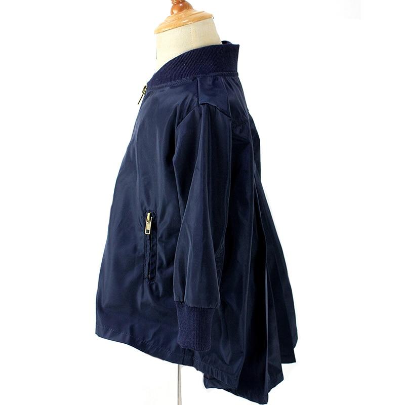 Ласточкин хвост весеннее пальто для куртки для девочек хлопковая верхняя одежда для маленьких девочек пальто 2018 Мода Детская Одежда для де...