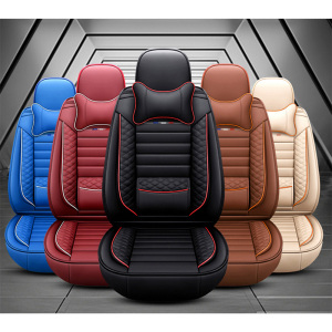 Image 5 - High PU Leather car seat covers 5 seats For BMW e30 e34 e36 e39 e46 e60 e90 f10 f30 x3 x5 x6 car accessories auto styling