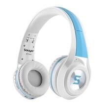 Sans fil Bluetooth 4.0 Pliage Casque Microphone Intégré Casque Stéréo Casque suppresseur de bruit actif pour smartphone pour PC