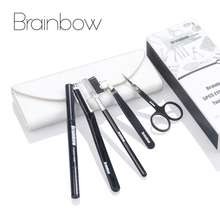 Brainbow 6pcs/Set Makeup Tool Kit Eyebrow Trimmer Eyes Tweez