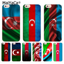 MaiYaCa Azerbaijan buta flag Pattern tpu Soft Phone Cover Case for Apple iPhone 8 7 6 6S Plus X 5 5S SE XS XR XSMAX(China)