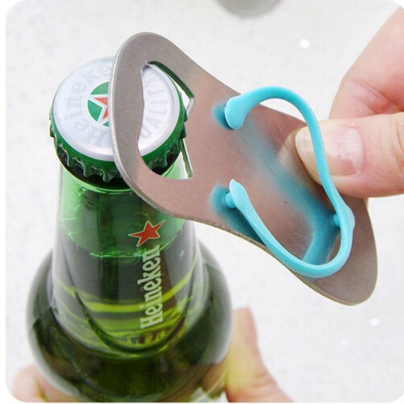 creative sandals shose beer bottle opener red wine openers slipper