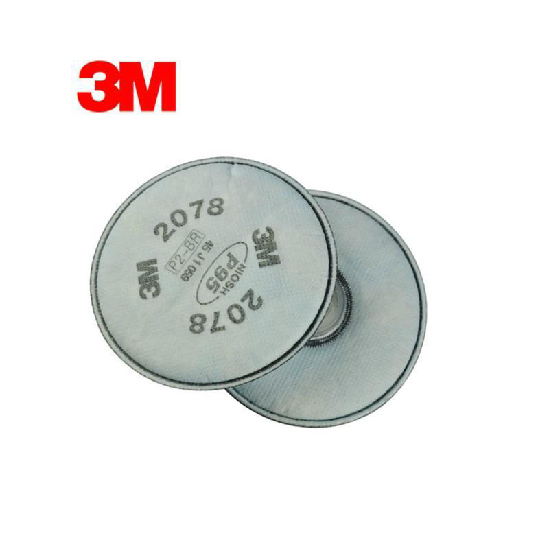 3M 2078 Particulate Cotton Filter Nuisance Level Organic Vapor&Acid Gas P95 Standard High Quality LT109 organic 3m 8577 vapor odor and particulate dust masks anti formaldehyde oil fume second hand smoke p95 with nuisance pm 2 5 mask