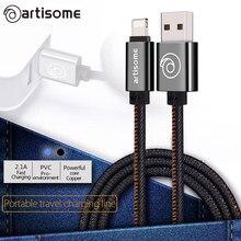 100 СМ Жан Ткань Мини USB Кабель Мобильный Телефон Кабели для Передачи Данных Линии быстрая Зарядка Зарядное Устройство Для iPhone 5S 5 6 6 S 7 Плюс роскошные