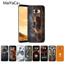 MaiYaCa Мир танков фотографии из мягкой резины черный чехол для телефона для samsung Galaxy Note 3 4 5 6 7 8 S6 край крышки мобильного телефона