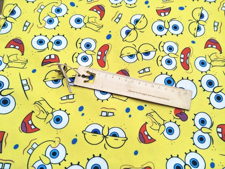 50*148 см классический мультфильм DIY ручной работы ткань, холст для пэчворка Ткань Домашний текстиль швейная DIY скатерть для диванов