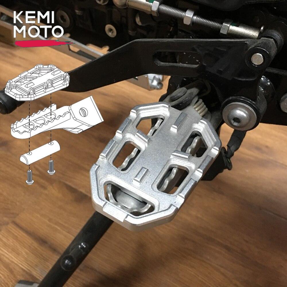Motocicleta billet mx pé largo pegs pedais resto footpeg para bmw r1200gs r1200 gs r 1200 gs 2013-2018