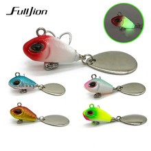 Fulljion Spinner Fishing Lures Wobblers Sequin Spoon Crankbaits Artifical Easy Shiner VIB Baits for Fly Fishing Trout Pesca(China)