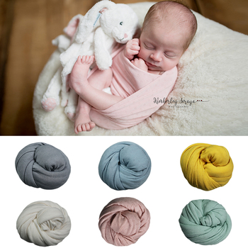 Don&Judy 2018 New 45*160 cm Stretch Breathable Wrap Newborn Photography Props Baby Photo Shoot Accessories Photograph For Studio