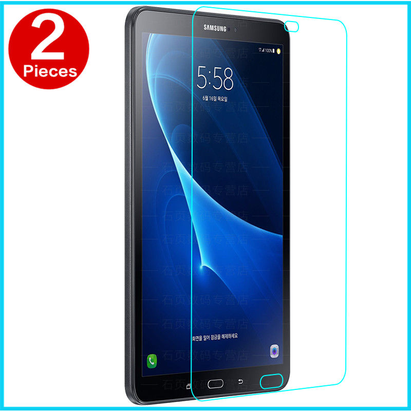 Tempered Glass membrane For Samsung Galaxy Tab A6 10.1 Steel film Tablet PC Screen Protection Toughened T585 T580 SM-T585N Case