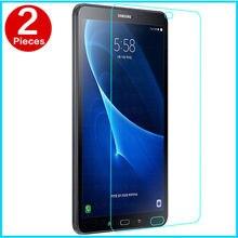 """A6 membrana De Vidrio templado Para Samsung Galaxy Tab 10.1 """"acero Templado Screen Protection film Tablet PC T580 T585 SM-T585N Caso"""