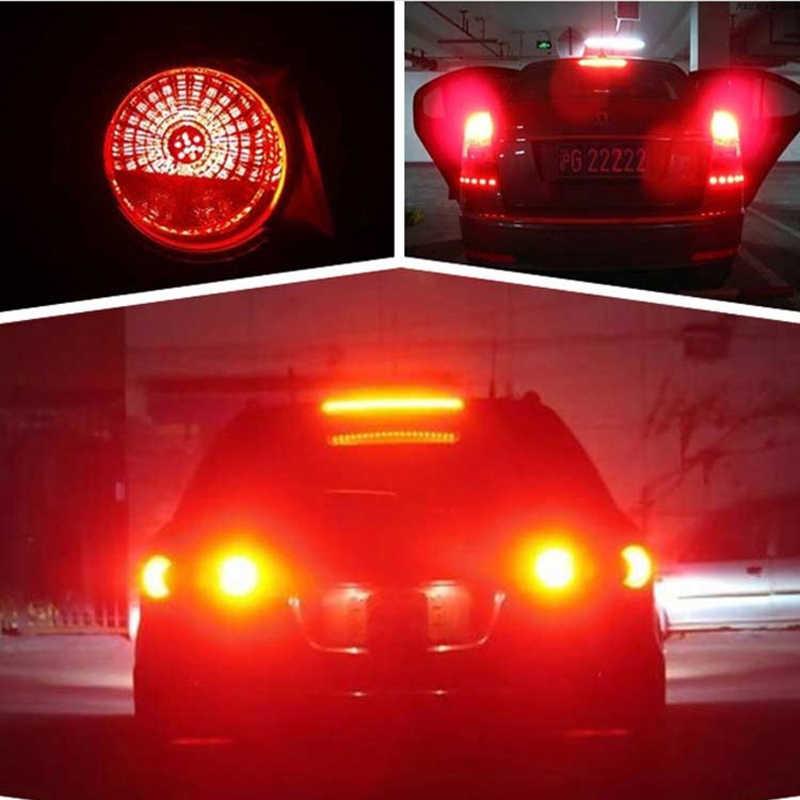 1Pcs 1156 BA15S P21W LED BAY15D LED Bulb 1157 P21/5W COB Chips Car Lamp Tail Signal Reverse Parking lights 12V brake Lights