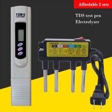 Yieryi высокое качество чистая вода электролизатор тест ЕС/США штекер белый+ TDS температура ручка \ TDS метр тест er качество воды тест