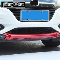 Car styling Front Plus Rear Body Bumper protection Trim For Honda HR V HRV 2014 2016 Protect Car Fender Guard Bumper Cover Trim