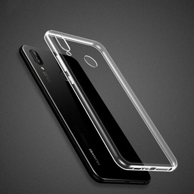 Funda de silicona para Huawei Mate20 Mate10 P20 Lite Pro Honor 8C 8A 8X9 P8 P9 Lite 2017 P cubierta de TPU transparente inteligente 2019