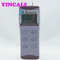 AZ8205 цифровой манометр 0 5psi Точность Давление воздуха Манометр можно выбрать один из 11 Давление единицы измерения