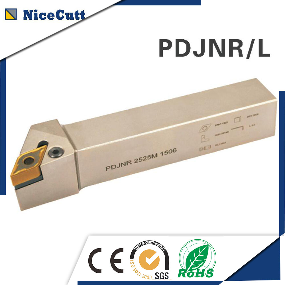High quality PDJNR L2525M1504 Nicecutt External Turning Tool Holder for DNMG insert Lathe Tool Holder