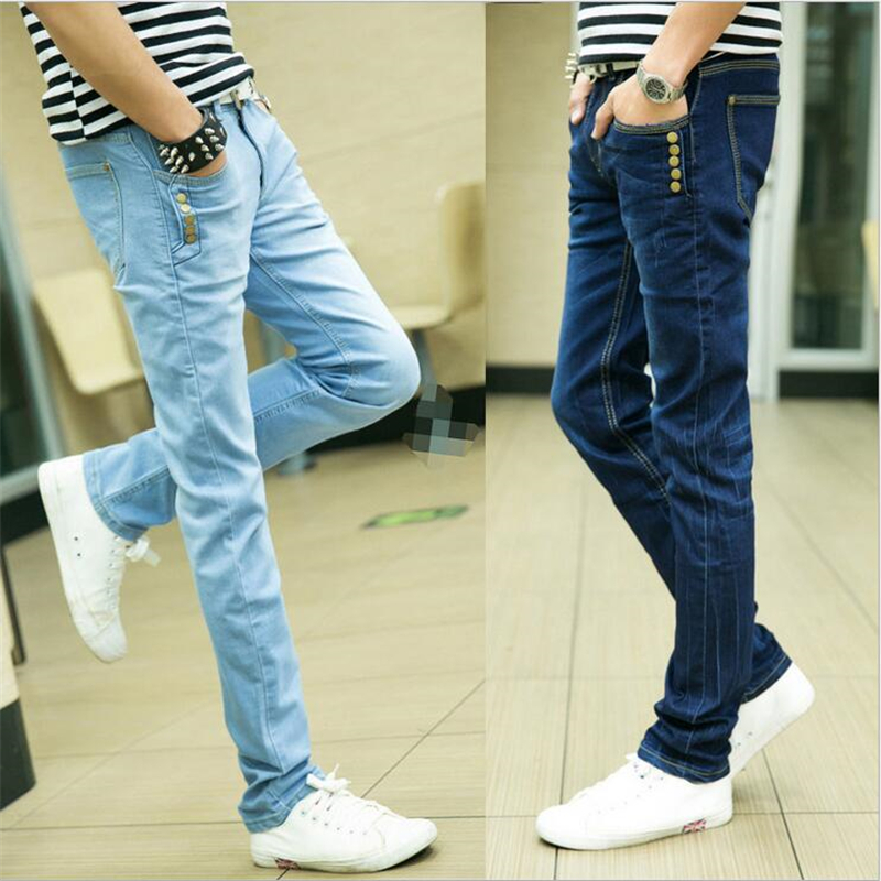 Free shipping 2016 Autumn and winter new arrival Brand men s denim jeans straight pants jeans