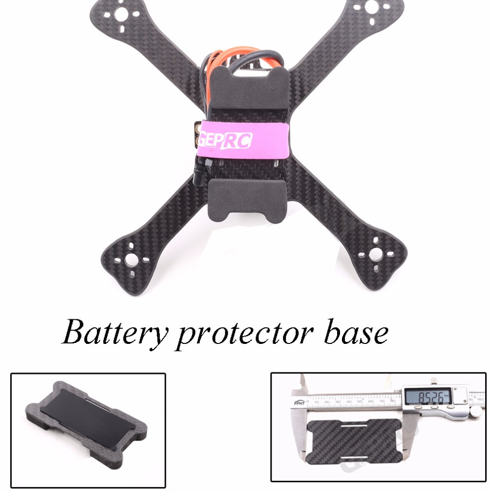 GEPRC/GEP-BP 85 мм/95 мм батареи protector base/пластина для FPV QAV-X frame с аккумулятором под конфигурацией frame