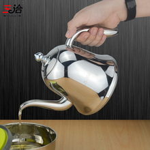 New style stainless steel cooking oil jugs pot Gravy Boat Olive Oil Bottle kettle Kitchenware for family Kitchen Storage