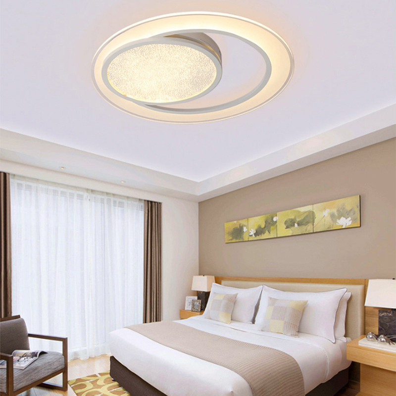 Lustre Ceiling Lights LED Lamp For Living Room Bedroom Study Room Home Deco AC85-265V Modern White surface mounted Ceiling Lamp цена 2017