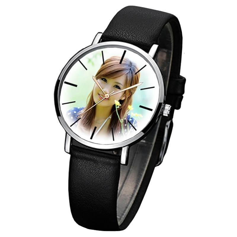 Us 204 32 Offa3304 Diy Uhr Geschenk Quarz Armbanduhren Für Liebhaber Männer Frauen Kinder Foto Druck Bild Installiert Armbanduhr Angepasst In