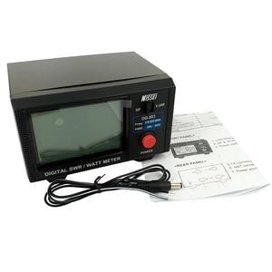 Image 2 - LCD Display Standing Wave Ratio Nissei DG 503 Digital SWR & Watt Meter 1.6 60MHz/125 525MHz 200W for Two way Radio Walkie Talkie