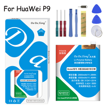 Original Da Xiong Li-ion Battery HB366481ECW  For Huawei P9 G9 Youth version 3000mAh Replacement Mobile Phone