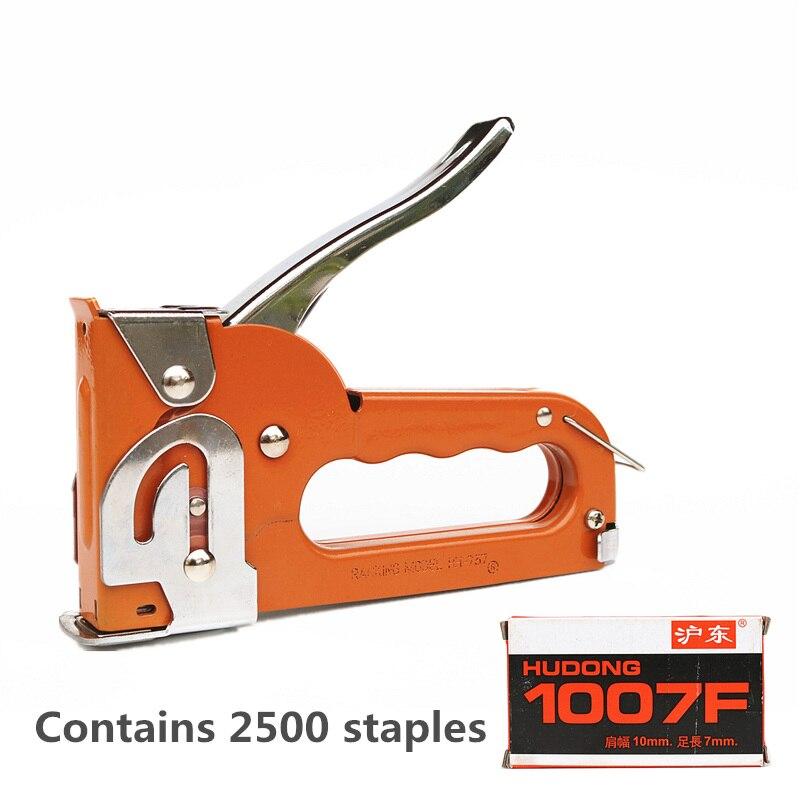 Office Heavy Duty Upholstery Hand Stapler 6'' Desktop Manual Paper ...