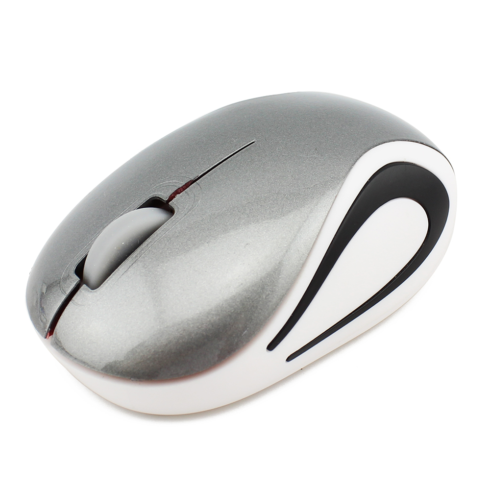 Generic Ot Sale Wireless Mouse Ergonomic 2.4Ghz 3D Mini Kids Mice 1600 DPI Optical With USB 2.0 Receiver For PC Laptop Desktop(Gray) price in Nigeria