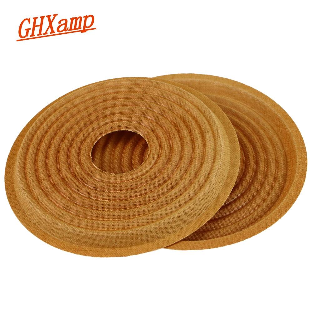 Ghxamp 145MM Woofer Speaker Spider Spring Pad Cloth Bullet Wave Shrapnel For 10