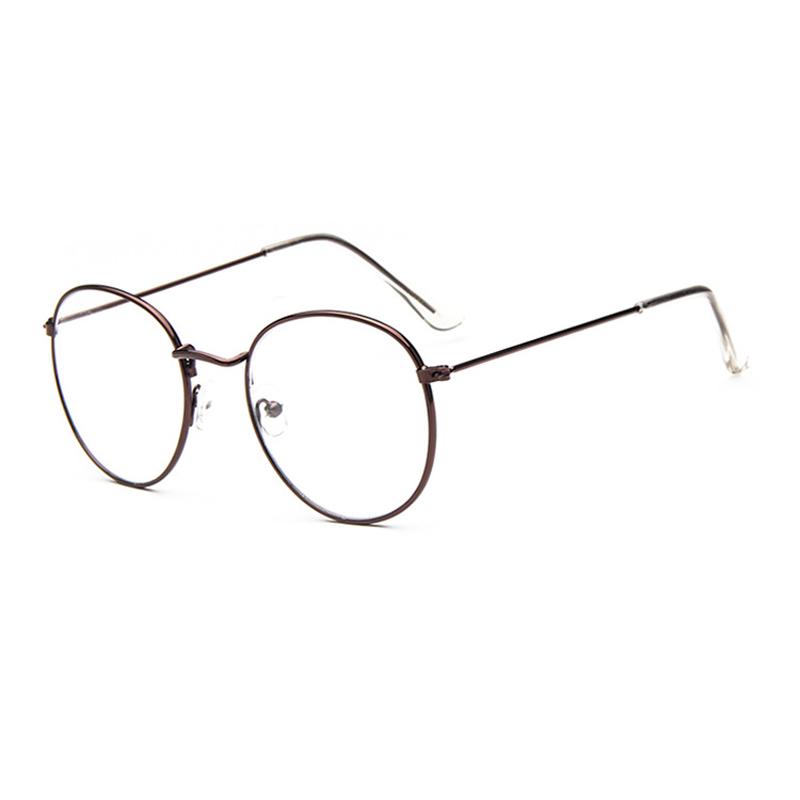 8513cc2902d Detail Feedback Questions about Lukoko 2018 Fashion Vintage Women Eye  Glasses Frames Plain Mirror Clear Lens Round Eyeglasses Retro Vintage  Optical Eyewear ...