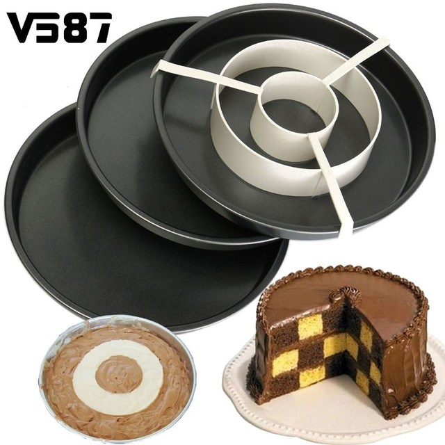 Baking Pan Bandeja Divisor 4 P 231 S Set N 227 O Vara Rodada Bolo
