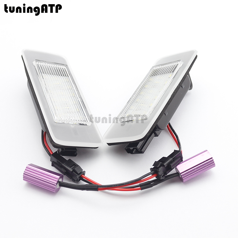 18-SMD LED Number License Plate Light Module for Opel Vauxhall Astra J Sports Tourer Estate Zafira Tourer C wireless control rgb color interior underdash foot accent ambient light for opel zafira a b c for chevrolet zafira tourer