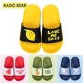 Детские домашние тапочки с мультяшными фруктами  забавная садовая обувь для маленьких мальчиков  Вьетнамки для маленьких девочек  детские ...