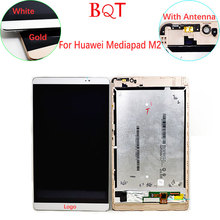 High Quality M2 LCD For Huawei MediaPad M2 8.0 LCD Display Touch Screen With Digitizer With Frame Assembly 100% Guarantee