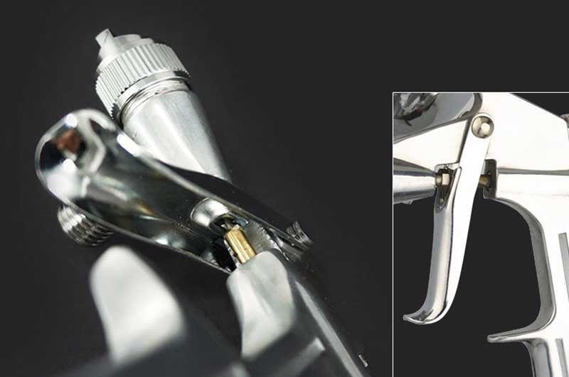 Image 3 - 0,5 мм Профессиональный Мини Аэрограф пистолет распылитель безвоздушный аэрографный распылитель легированный кожаный красящий инструмент пистолетный-in Распылители from Инструменты on